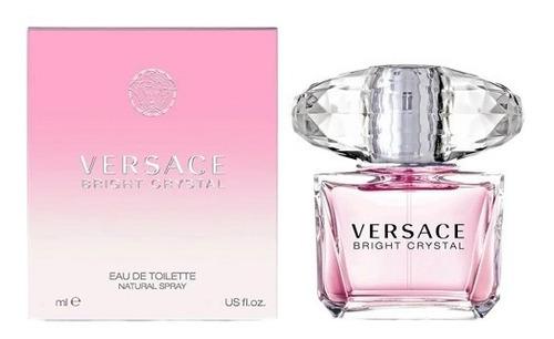 Perfume Versace Bright Crystal 90ml Damas Fragancia Mujer