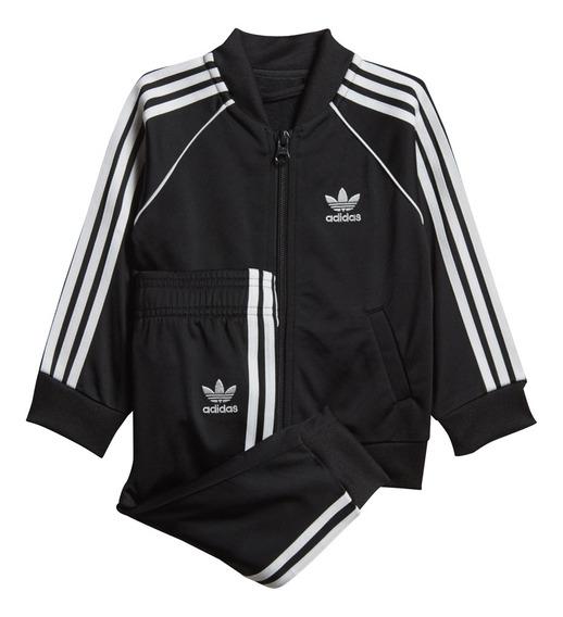 Conjunto Adidas Mujer Original Negro Talle 12 - Conjuntos ...