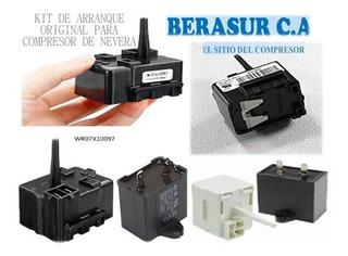 Kit De Arranque Para Compresor De Nevera Original (10verde)