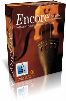 Encore 5 Em Portbr + Manual + 4500 Partituras + Exercicios