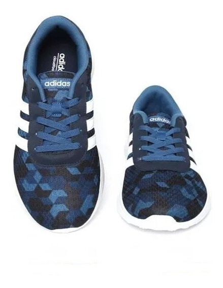 Tenis adidas Lite Racer -azul-originales Aw3872