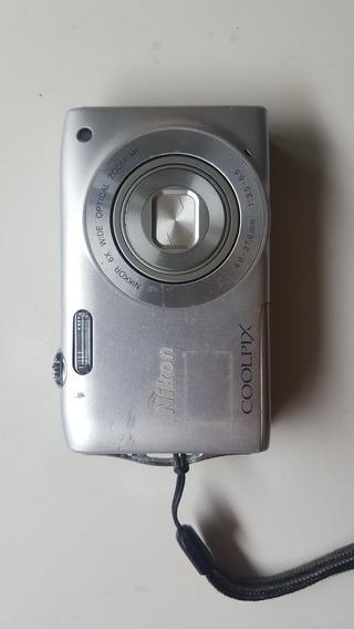 Câmera Nikon Coolpix S3300
