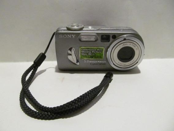 Camera Sony Cyber-shot Dsc-p10 Sem Memory Sick E Bateria