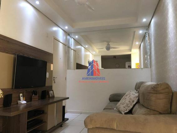 Apartamento Com 2 Dormitórios À Venda, 48 M² Por R$ 200.000,00 - Loteamento Industrial Machadinho - Americana/sp - Ap1053