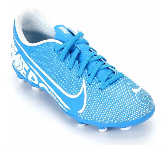 Chuteira Nike Mercurial Vapor Club Fg Azul