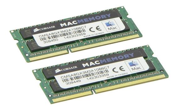 Kit De Memoria 16gb(2x8) Corsair1600mhz Macbook Mac 2011/12