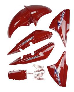Kit Titan 150 2004 A 2008 Honda Tampas Paralama Rabeta Cores