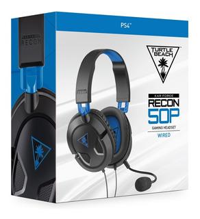 Ps4 Gaming Headset Recon 50p Turtle Beach Original De Linea