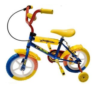Bicicleta Rodado 12 Bruzzoni Nena Nene Ruedas Macizas
