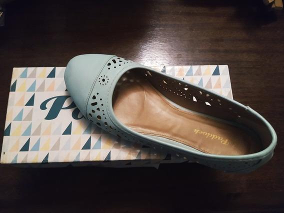 Chatitas Dama Zapatos Paddock N° 37 En Caja Como Nuevos