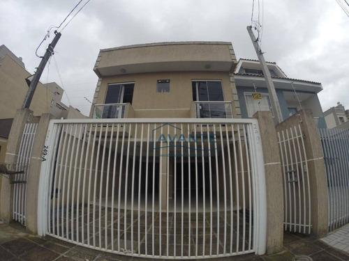 Apartamento Com 3 Dormitórios À Venda, 72 M² Por R$ 310.000,00 - Cidade Jardim - São José Dos Pinhais/pr - Ap1237