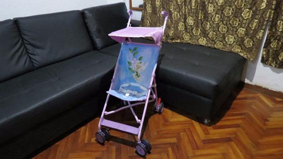 Coche Paragua Disney Tinkerbell Bebé Niña Hada 30verdes
