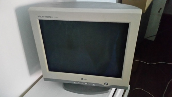 Monitor 17 Pulg Lg De Tubo Pantalla Plana - Modelo T730sh