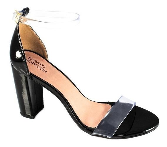 Sandália Vinil Numeração Especial Sapato Show 1260176e