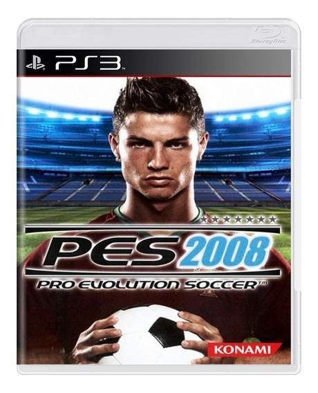 Pro Evolution Soccer 2008-ps3 Mídia Física- A Pronta Entrega