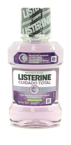 Enjuague Bucal Listerine Cuidado Total Menta Fresca