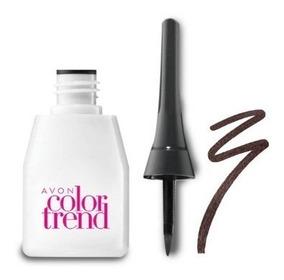 Avon Delineador Líquido Color Trend Marrom 3ml
