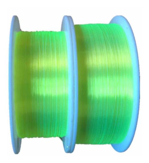10cm Fibra Óptica Verde 1,5mm Para Alça E Massa De Mira