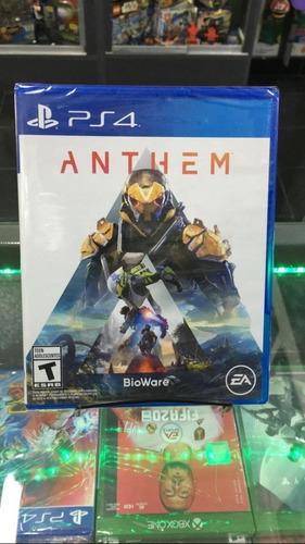 Juego De Play 4 --- Anthem Nuevo Fisico