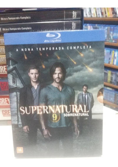 Blu-ray Original Supernatural - 9º Temporada (sobrenatural)