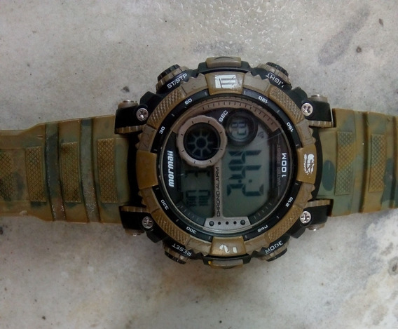 Relógio Mormaii Masculino Mo12579a Funcionando No Estado