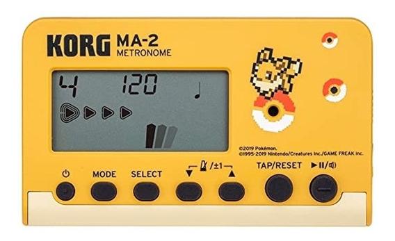 Metrônomo Digital Korg Ma-2 Pokemon Compacto Portátil + Nf