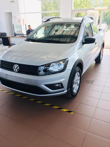 -volkswagen Saveiro 0km 2020 -$300.000 O Tu Usado + Cuotas D