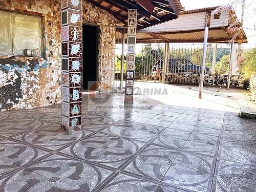 Chácara Com 03 Casas E Ponto Para Comércio (bar).