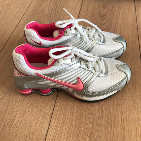 Tenis Nike Shox - Tamanho 34