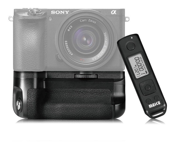 Battery Grip Meike Mk-a6500 Pro Sony A6500 Controle Remoto
