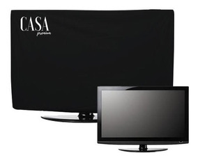 2 Capas Luxo Tv Lg Samsung Led Lcd Corino Impermeável