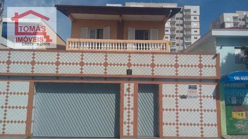 Imagem 1 de 9 de Sobrado Residencial À Venda, Jardim Cidade Pirituba, São Paulo. - So1576