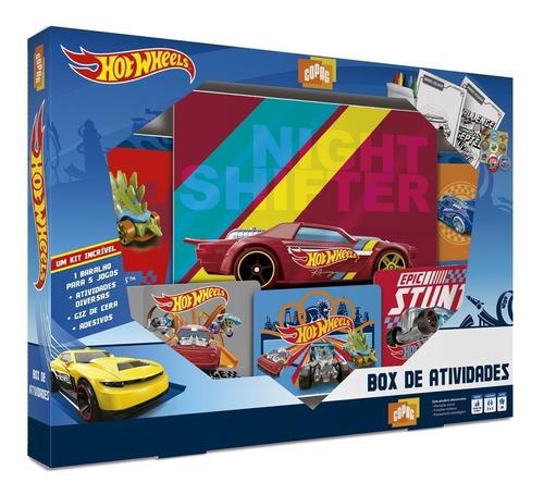 Box De Atividades Hot Wheels - Copag