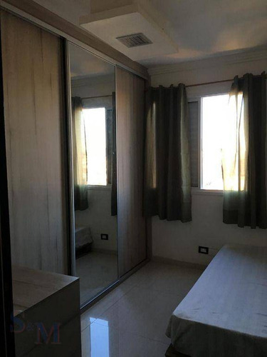 Imagem 1 de 29 de Lindo Apartamento Com 2 Dormitórios À Venda, 52 M² Por R$ 349.000 - Vila Homero Thon - Santo André/sp - Ap1333