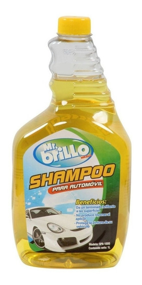 Shampoo Para Automovil 1 L Mikels Herramienta