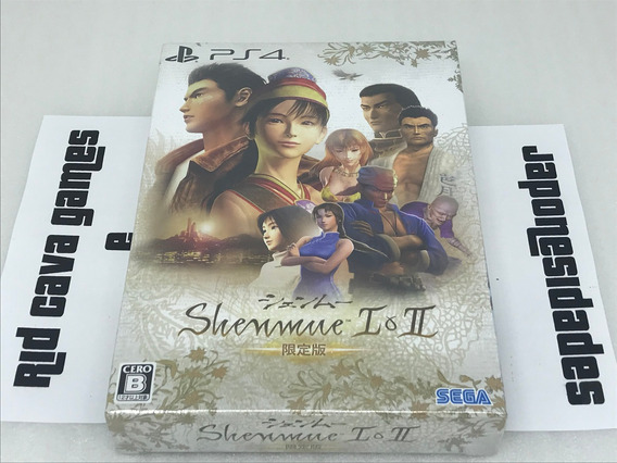 Shenmue I & Ii Limited Edition Ps4