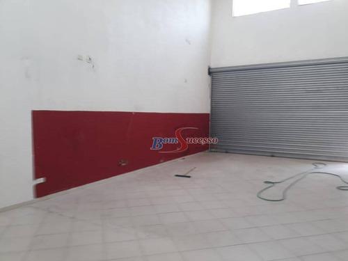 Imagem 1 de 4 de Salão Para Alugar, 85 M² Por R$ 3.300,00/mês - Jardim Colorado - São Paulo/sp - Sl0124