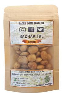 Sacha Inchi Tostado Con Sal 50gr. - Unidad a $5500