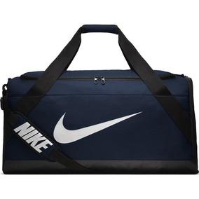 Bolsa Masculina Nike Brasilia Duff Azul 100% Original