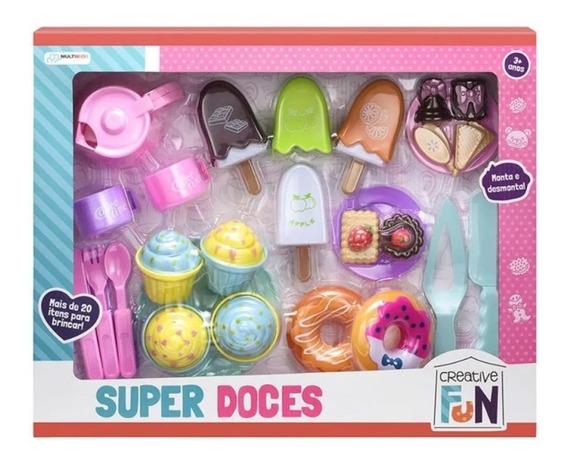Creative Fun Super Doces Indicado Para 3 Anos Colorido Br604