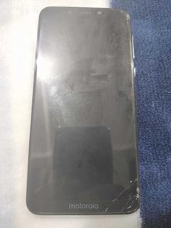 Celular Motorola One (usado) 64gb - Branco.