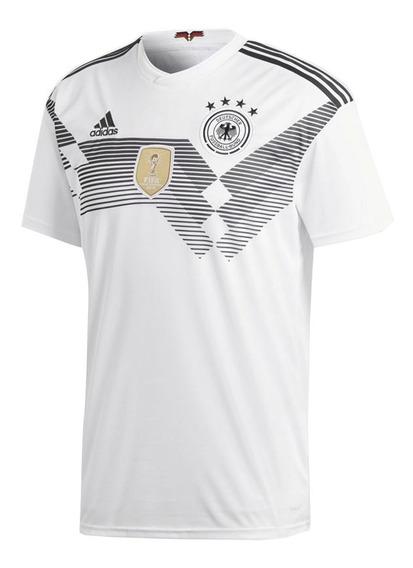Playera adidas Hombre Blanco Alemania Dfb H Jsy Br7843