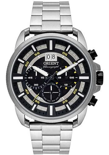 Relógio Orient Analógico Cronógrafo Masculino Mbssc203 P1sx