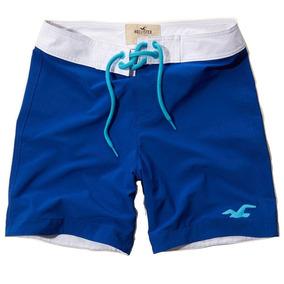 079f967f3 Shorts Tactel Masculino Hollister - Original