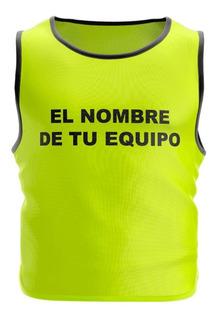 Chaleco Deportivo Entrenamiento Fútbol Fútbol Básquet Voley