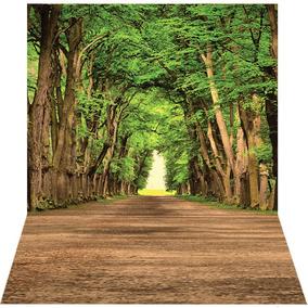 Fundo Fotográfico Tecido Newborn Floresta 1,5x2,2m - Ffc-40