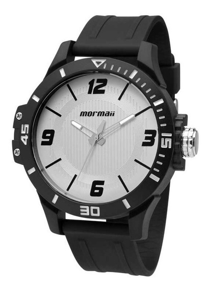 Relógio Mormaii Masculino Wave Mo2035fl/8b Branco Analógico