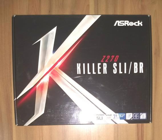 Kit Processador I7 7700k Delid Placa Mãe Asrock Z270 Killer