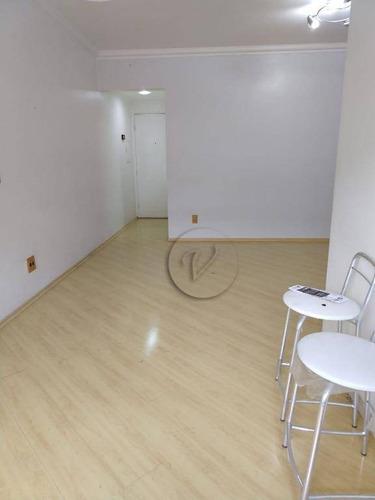 Imagem 1 de 23 de Apartamento Com 3 Dormitórios À Venda, 80 M² Por R$ 370.000,00 - Vila Apiaí - Santo André/sp - Ap10200