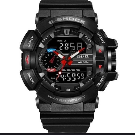 Relógio Shock - Relógio Militar- Relógio Smael